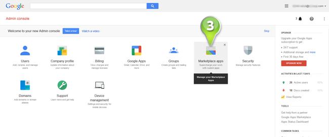 Google Apps - Mindomo Help